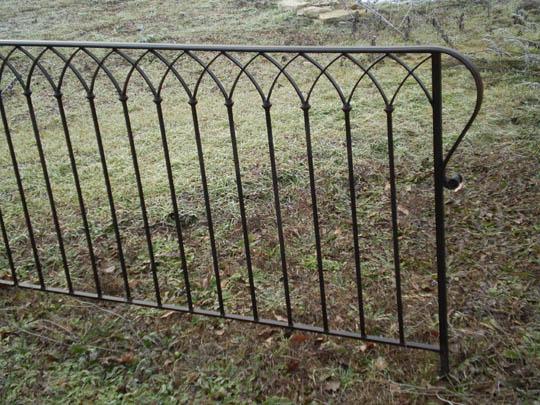 Poterie mireille chopin ferronnerie pergolas portail for Fenetre en ogive